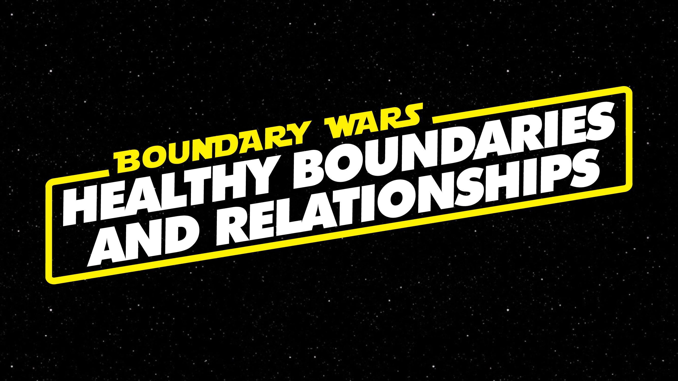 setting boundaries in christian relationships