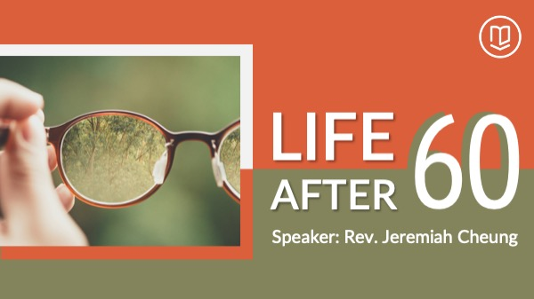 "Hero Image for the seminar ""Life After 60"""