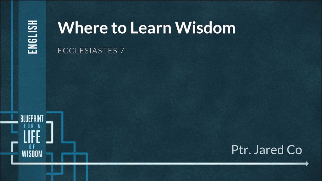 Where to Learn Wisdom