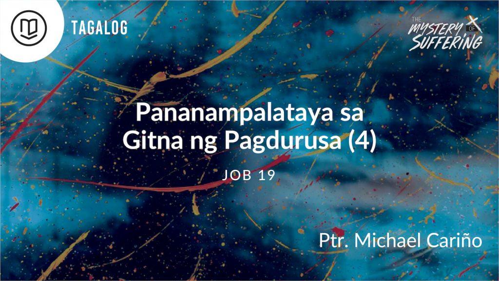 Pananampalataya sa Gitna ng Pagdurusa (4)