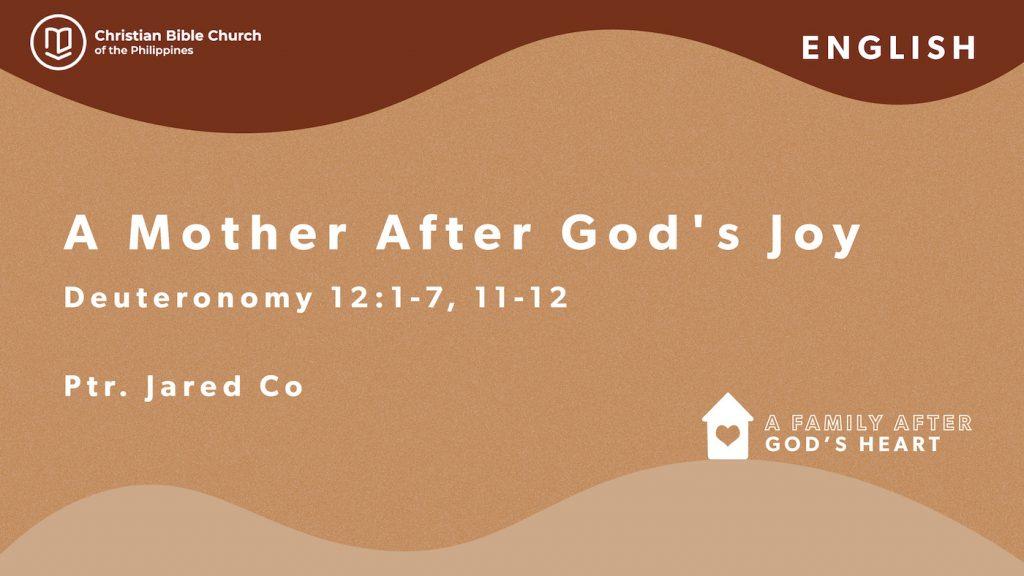 A Mother after God's Joy