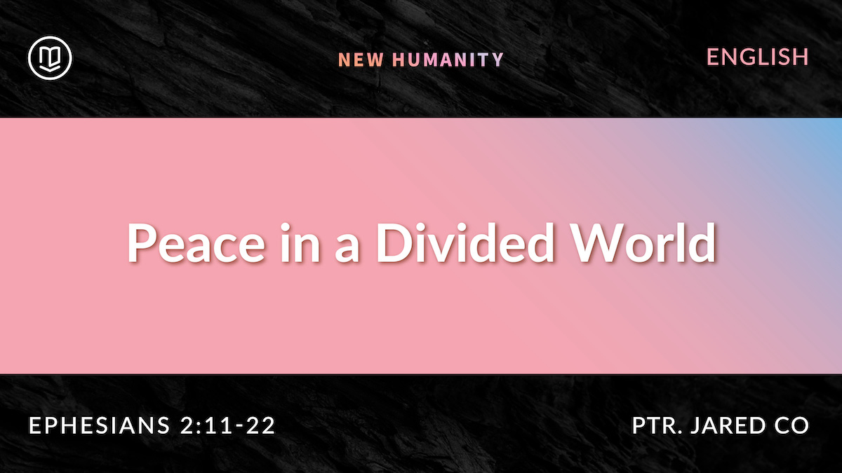 Peace in a Divided World